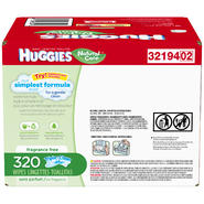 Huggies Refill Baby Wipes 320 CT BOX at Kmart.com