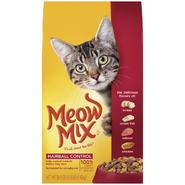 Meow Mix Hairball Control Dry Cat Food 3.15 LB BAG at Kmart.com