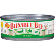 Bumble Bee Premium Chunk Light in Water Tuna 5 OZ CAN at Kmart.com
