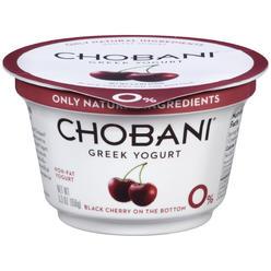 Chobani Yogurt, Greek, Non-Fat, Black Cherry, 6 oz (170 g) at Kmart.com