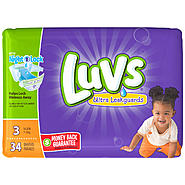 Luvs with Ultra Leakguards Size 3 Diapers 34 CT BAG at Kmart.com