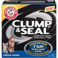 Arm & Hammer Clump & Seal Fresh Home Cat Litter 14 LB BOX at Kmart.com