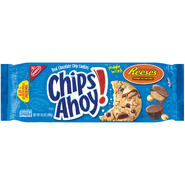 Chips Ahoy Made W/Reese's Peanut Butter Cups Cookies 9.5 OZ TRAY at Kmart.com