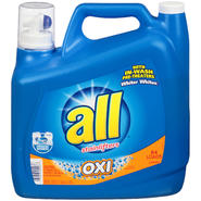 All with Stainlifters Oxi 84 Loads Liquid Laundry Detergent 150 FL OZ PLASTIC JUG at Kmart.com