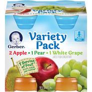 Gerber Variety Pack Juice Fruit at Sears.com