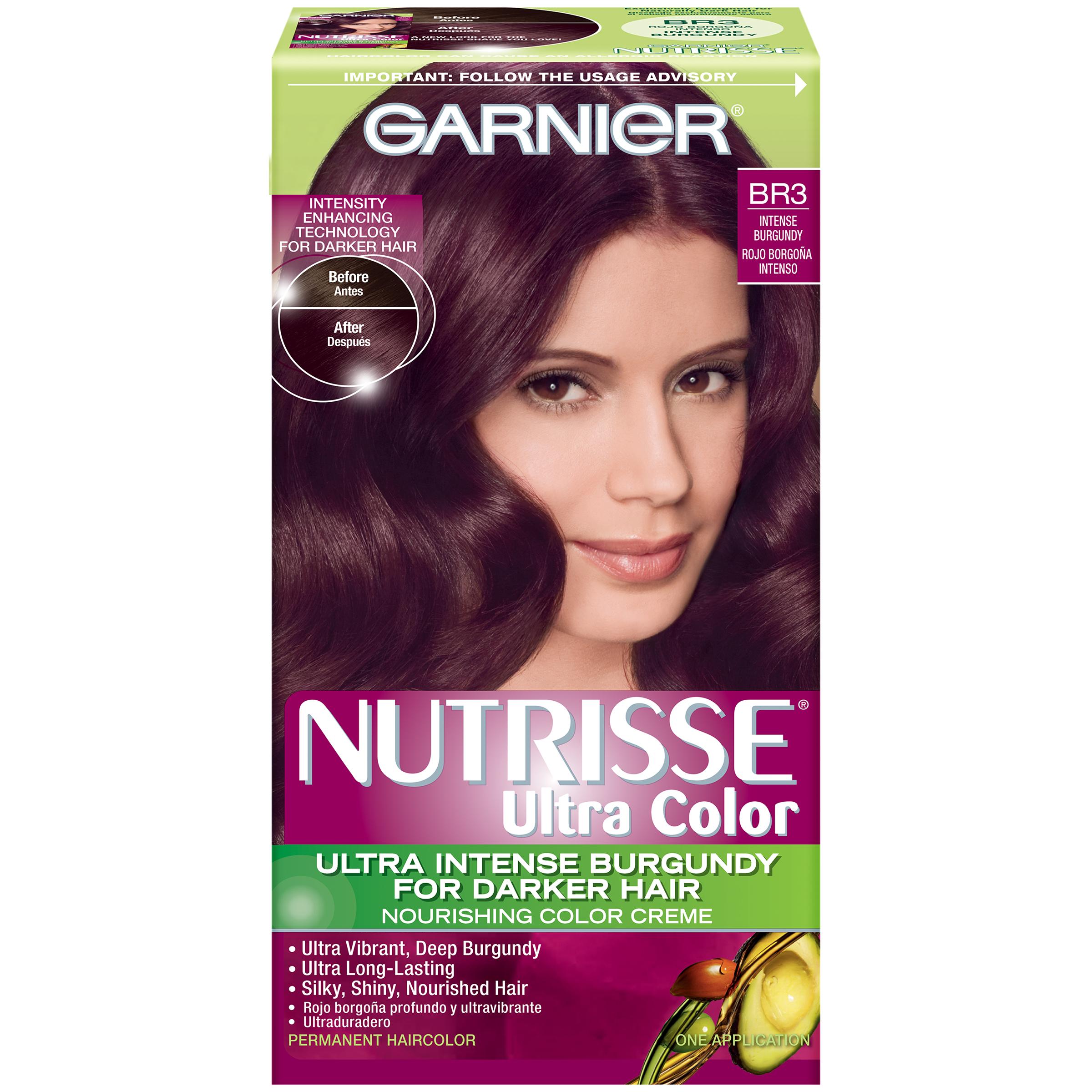 Br3 Intense Burgundy Ultra Color Nourishing Color Creme 1 KT BOX