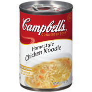 Campbell's Homestyle Chicken Noodle R&W Condensed Soup 10.75 OZ PULL-TOP CAN at Kmart.com