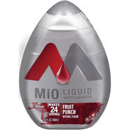 MIO Fruit Punch Liquid Water Enhancer 1.62 OZ PLASTIC BOTTLE at Kmart.com