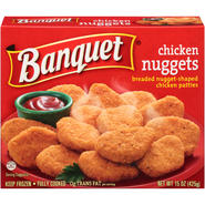 BANQUET Breaded Chicken Nuggets 15 OZ BOX at Kmart.com