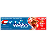 Crest Complete Multi-Benefit Whitening Expressions Cinnamon Rush Flavor Toothpaste 1 CT CARTON at Kmart.com