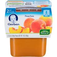 Gerber 2F Peaches (2-3.5 oz) Purees-Fruit WIC 7 OZ SLEEVE at Kmart.com