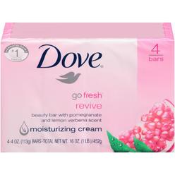 Dove Go Fresh Revive with Pomegranate & Lemon Verbena Scent Beauty Bar 16 OZ PACK at Kmart.com