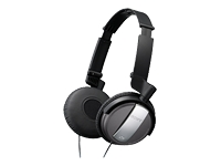 On-Ear Noise-Canceling Headphones - Black                                                                                        at mygofer.com