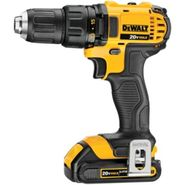 DeWalt 20 V MAX* Lithium Ion Compact Drill / Driver Kit (1.5 Ah) at Sears.com