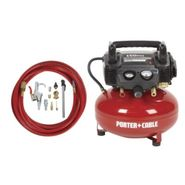 Porter-Cable 150 PSI, 6 Gallon Oil-Free Pancake Air Compressor at Sears.com