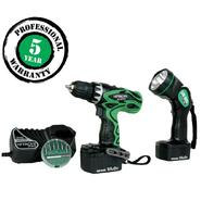 Hitachi 14.4V 3/8 In. Driver Drill Kit with Flashlight at Sears.com