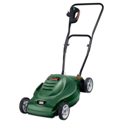 Black & Decker MM275 18 in. Deck Side-Discharge Electric Mower, Corded, 9 amp