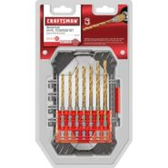Craftsman 14pc Titanium Drill Bit Set at Craftsman.com