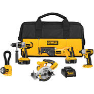 DeWalt XRP™ 18 V Cordless 5-Tool Combo Kit at Sears.com