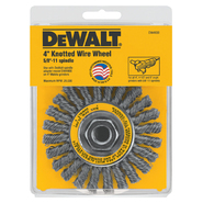 DeWalt 4 In. x 5/8 to 11 In. Arbor Carbon Cable Twist Wire Wheel at Kmart.com