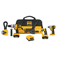 DeWalt 18 V XRP™ Lithium-Ion 4-Tool Cordless Combo Kit at Sears.com