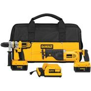 DeWalt 36 V Cordless Li-ion Hammer Drill/Reciprocating Saw Combo Kit at Sears.com