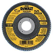 DeWalt 4-1/2 In. x 7/8 In. 36 Grit Zirconia Flap Disc at Sears.com