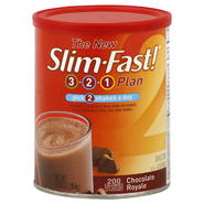 Slim-Fast 3-2-1 Plan Shake Mix, Chocolate Royale, 12.83 oz (364 g) at Kmart.com