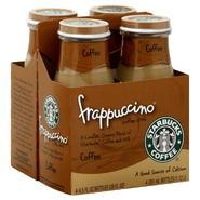 Starbucks Coffee Frappuccino Coffee Drink, Coffee, 4 - 9.5 fl oz (281 ml) bottle [38 fl oz (1.12 lt)] at Kmart.com