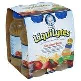 Gerber LiquiLytes Oral Electrolyte Maintenance Solution, Apple, 4 - 8 fl oz (237 ml) bottles (1 qt) 948 ml] at mygofer.com
