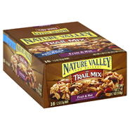 Nature Valley Trail Mix Bars, Chewy, Fruit & Nut, 16 - 1.2 oz (35 g) bars [1 lb 3.7 oz (558 g)] at Kmart.com