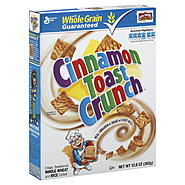 General Mills Cereal, Whole Wheat, Rice, Cinnamon, 12.8 (362 g) at Kmart.com
