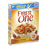 Fiber One Cereal, Honey Clusters, 14.25 oz (403 g) at Kmart.com