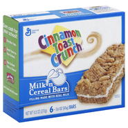 General Mills Milk N Cereal Bars, 6 - 1.6 oz (45 g) bars [9.5 oz (270 g)] at Kmart.com