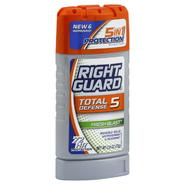 Right Guard Total Defense 5 Antiperspirant & Deodorant, Invisible Solid, Fresh Blast, 2.6 oz (73 g) at Kmart.com