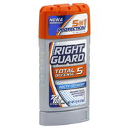 Right Guard Total Defense 5 Power Stripe Antiperspirant & Deodorant, Invisible Solid, Arctic Refresh, Bonus, 3 oz (85 g) at Kmart.com