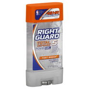 Right Guard Total Defense 5 Antiperspirant & Deodorant, Power Gel, Fast Break, 4 oz (113 g) at Kmart.com