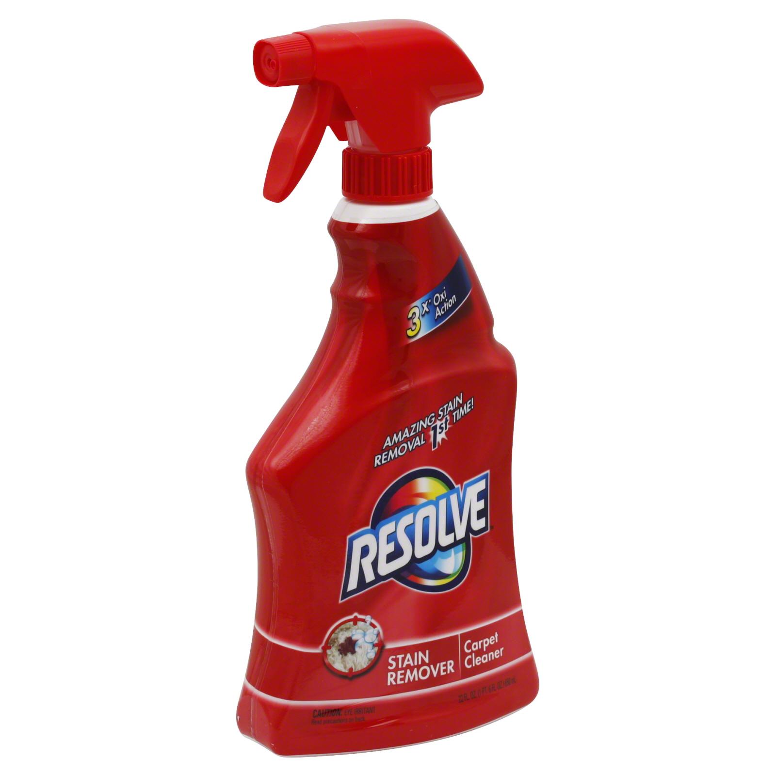 Stain Remover, Carpet Cleaner, 22 fl oz (1 pt