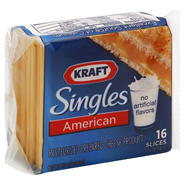 Kraft Singles Cheese Product, Pasteurized Prepared, American, 16 - 0.75 oz slices [12 oz (340 g)] at Kmart.com