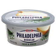 Philadelphia Cream Cheese Spread, Regular, Chive & Onion, 8 oz (226 g) at Kmart.com