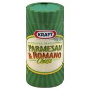 Kraft 100% Grated Cheese, Parmesan & Romano, 8 oz (227 g) at Kmart.com
