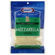 Kraft Natural Finely Shredded Cheese, Mozzarella, 8 oz (226 g) at Kmart.com