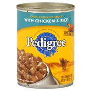 Pedigree Food for Adult Dogs, Choice Cuts in Sauce with Chicken & Rice, 13.2 oz (375 g) at Kmart.com