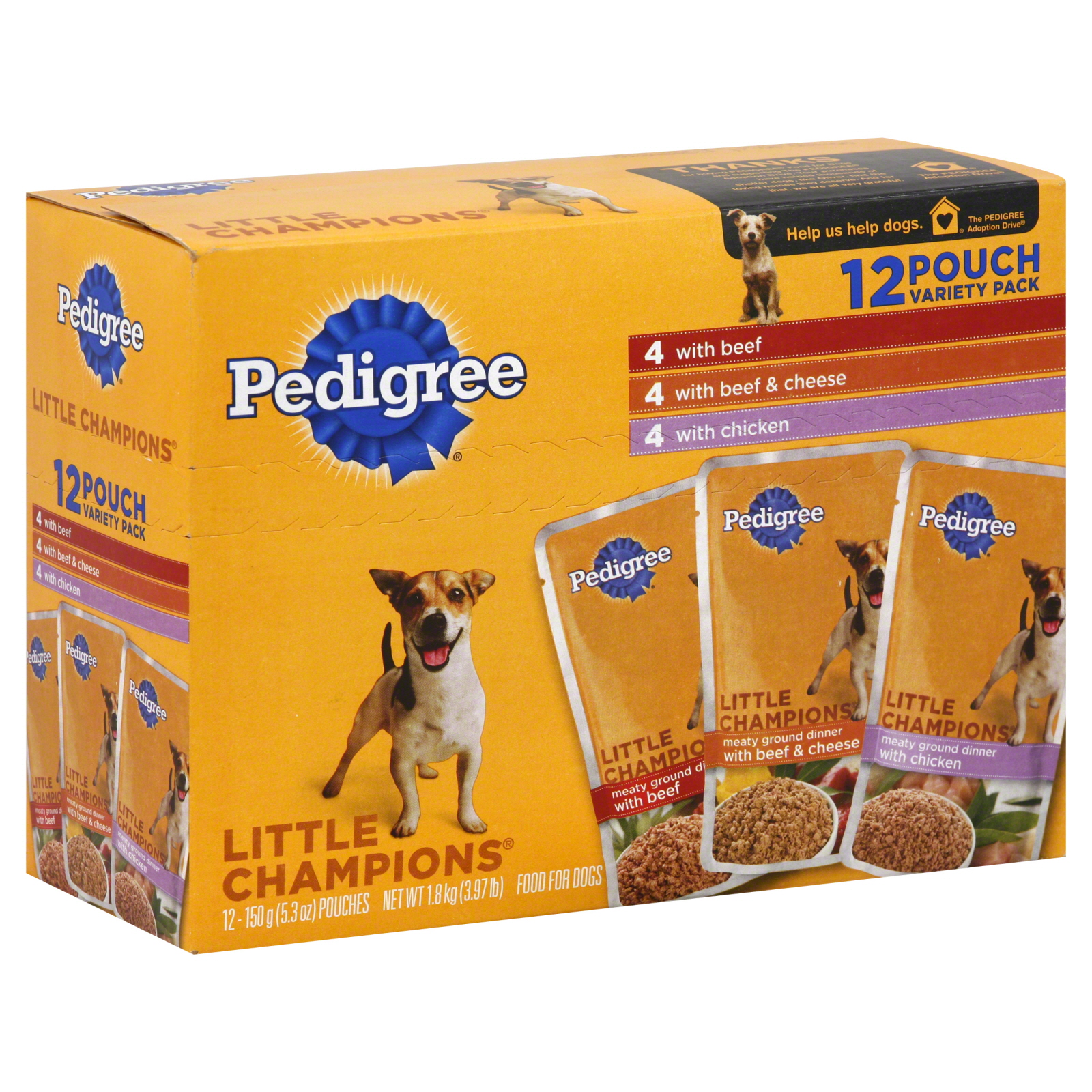 Pedigree  Little Champions Food For
