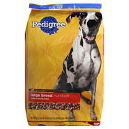 Pedigree Large Breed Nutrition Dog Food, For Puppies and Adult Dogs, Large Crunchy Bites, 36.4 lb (16.51 kg) at Kmart.com