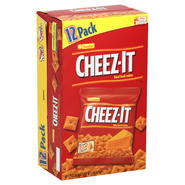 Cheez-it Baked Snack Crackers, 12 - 1.25 oz packages [15 oz (425 g)] at Kmart.com