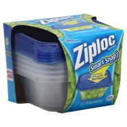 Smart Snap Seal Containers and Lids, Square,