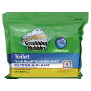 Scrubbing Bubbles Toilet Flushable Pad Refills, Citrus Action Scent, 12 refills at Kmart.com