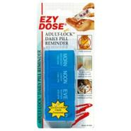 Ezy-Dose Daily Pill reminder, Adult-Lock, 1 pill box at Kmart.com