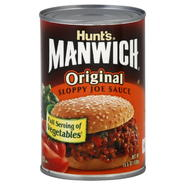 Hunt's Manwich Sloppy Joe Sauce, Original, 15.5 oz (439 g) at Kmart.com